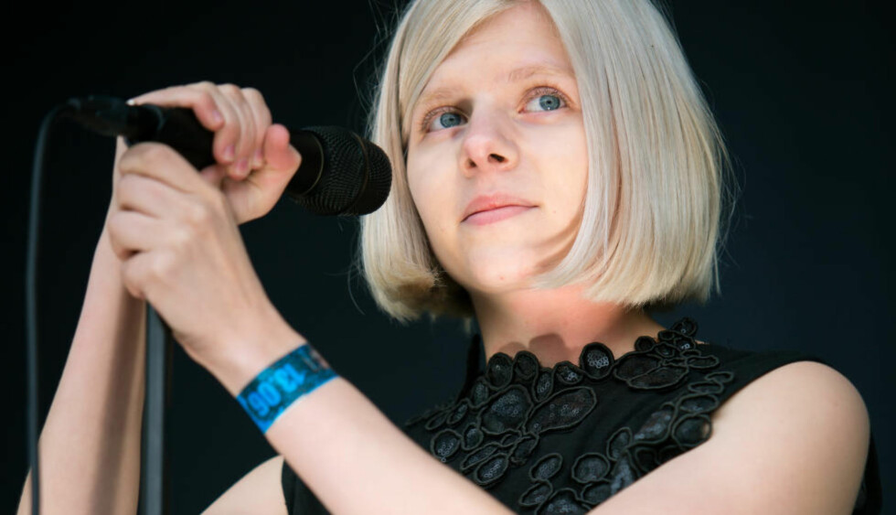 GLEDER SEG:  Artist Aurora Aksnes gleder seg til å spille på samme scene som A-ha. Foto: Tord Litleskare / Scanpix