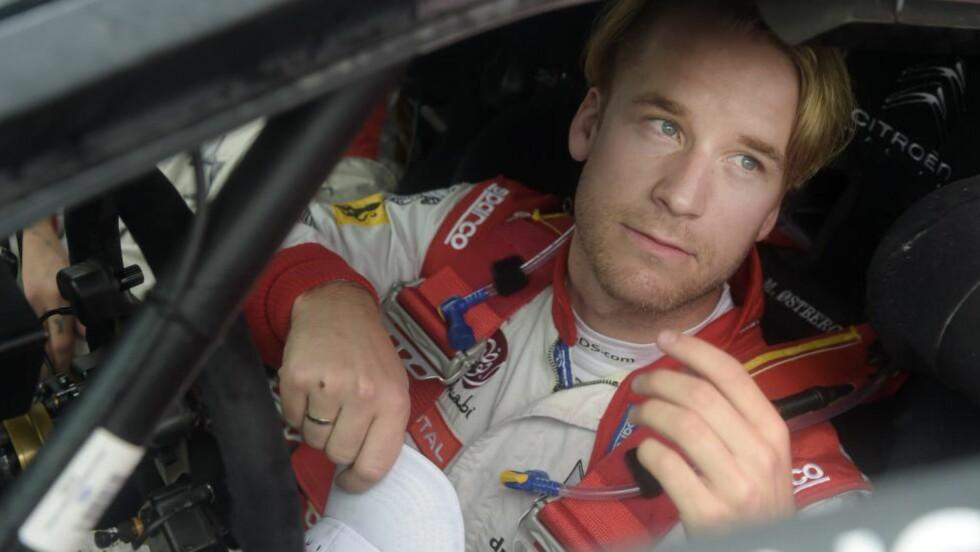 <strong>LIGGER ET STYKKE BAK:</strong> Mads Østberg i sin Citroën DS3 WRC holder 5.-plassen, men han har 29,7 sekunder å ta inn på lederen. Foto: Vesa Moilanen/Lehtikuva/AP/NTB scanpix