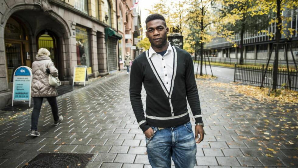 IKKE TRODD: Ugandiske Henry Godon Oguti (22) har søkt asyl i Norge fordi han hevder han er homofil, men myndighetene tror ham ikke. Neste år skal saken hans opp for retten.  Foto: Lars Eivind Bones / Dagbladet