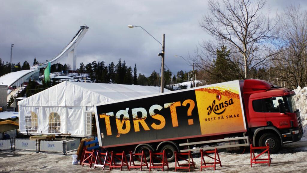 NØKTERNT:  Er slik reklame lov? Foto: Erlend Aas / SCANPIX .