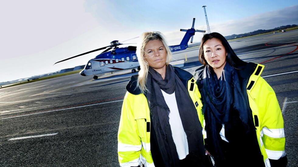 TUNGT: -  Det var tungt å få beskjed om at jeg hadde mistet jobben, sier May-Helen Nilsen (37) (t.h.. Hun fikk oppsigelse i oktober og har jobb ut året. Kollega Marianne Hjelm (45) mistet jobben i september. Foto: Jacques Hvistendahl / Dagbladet