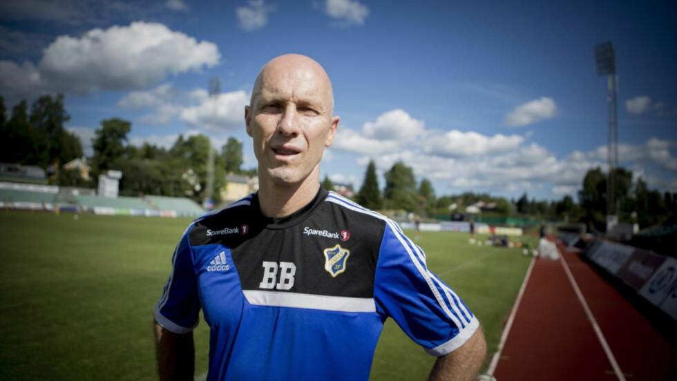 GIR SEG: Stabæk-trener Bob Bradley. Foto: Christian Roth Christensen / Dagbladet