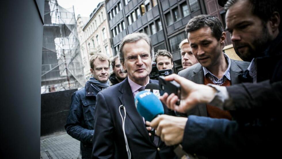 AVSLUTTER AVTALEN: Den tidligere konsernsjefen i Telenor, Jon Fredrik Baksaas, har ikke lenger noen konsulentavtale i selskapet. Foto: Christian Roth Christensen / Dagbladet