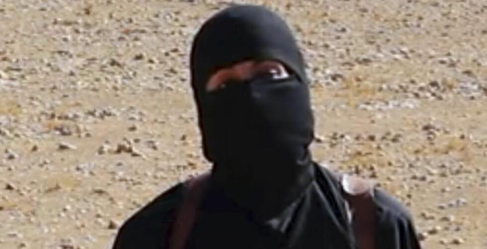 SKAL VÆRE DREPT:  Det hersker fortsatt usikkerhet om hvorvidt det kjente IS-medlemmet Jihadi John ble drept under torsdagens bombeangrep i Raqqa. Foto: AP Photo