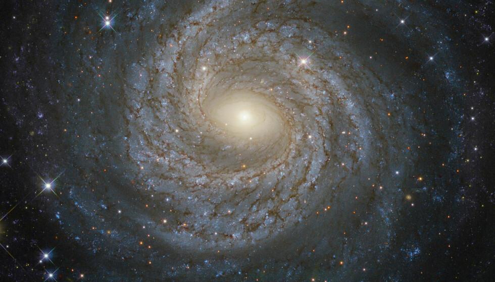 UKJENT KRAFT?: Forskerne ved Universitetet i California i Irvine bekrefter at funnene kan være en femte, hittil ukjent kraft i universet. I så fall vil det endre forståelsen av universet. Foto: ESA / Hubble og NASA