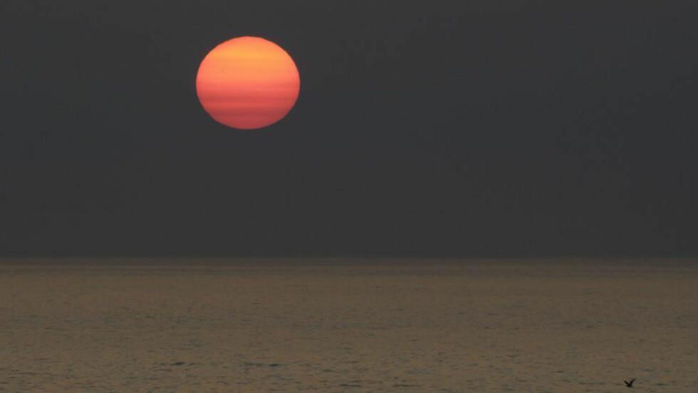 SVAK SOL:  Hvis solas styrke reduseres til et minimum, er det grunn til å anta at en «mini-istid» er på vei til Norge, tror den norske solforskeren Pål Brekke. Foto: Thorfinn Bekkelund / Samfoto