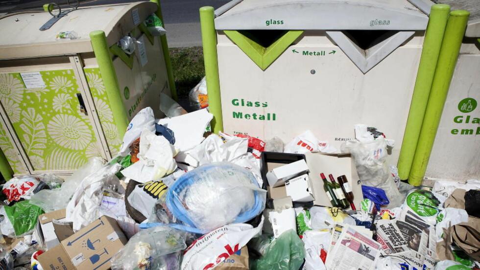 SØPPEL:  Hver og en av oss kasta 430 kilo avfall i fjor.  Foto: Jon Terje Hellgren Hansen / Dagbladet
