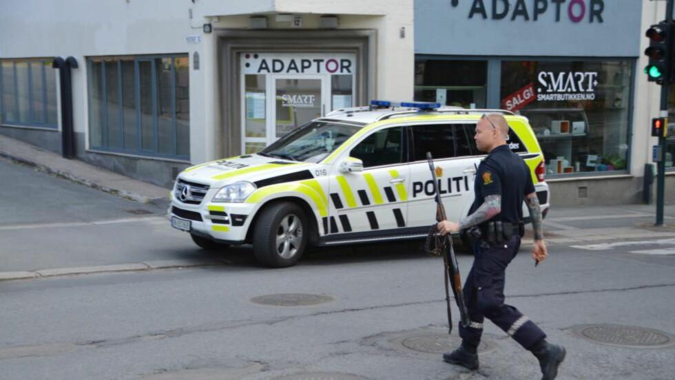 FANT PUMPEHAGLE OG AMMUNISJON: Nå er mannen som glemte pizza i ovnen anmeldt for brudd på våpenloven. Foto: Fredrik Hove / Hove Media