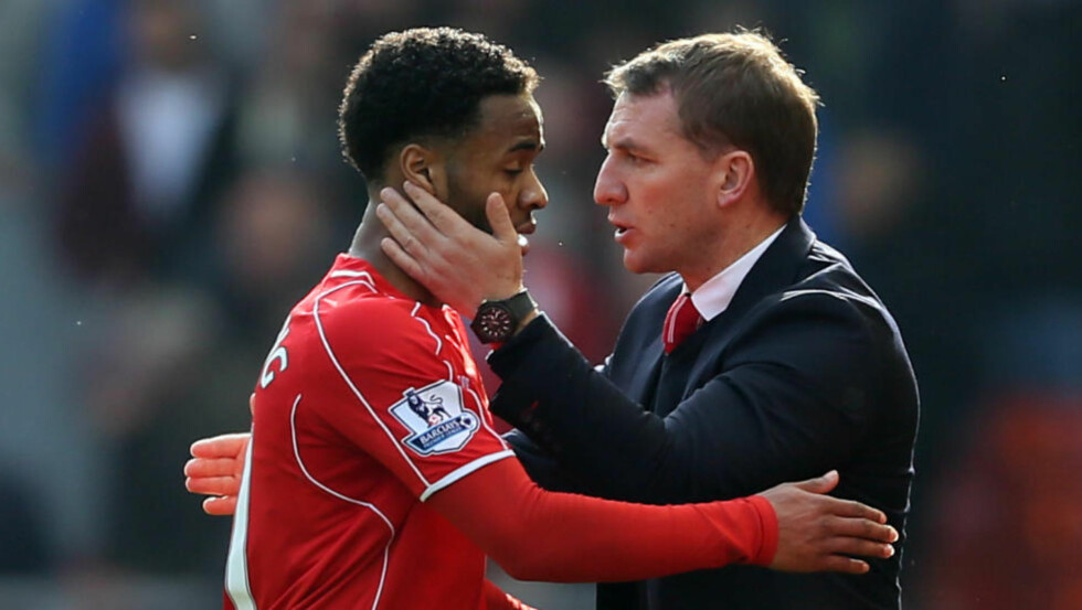 DRAR: Brendan Rodgers bekrefter at Raheem Sterling er ferdig i Liverpool. Foto: NTB Scanpix
