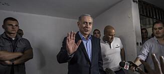 Den israelske statsministeren ønsker seg fred med Palestina