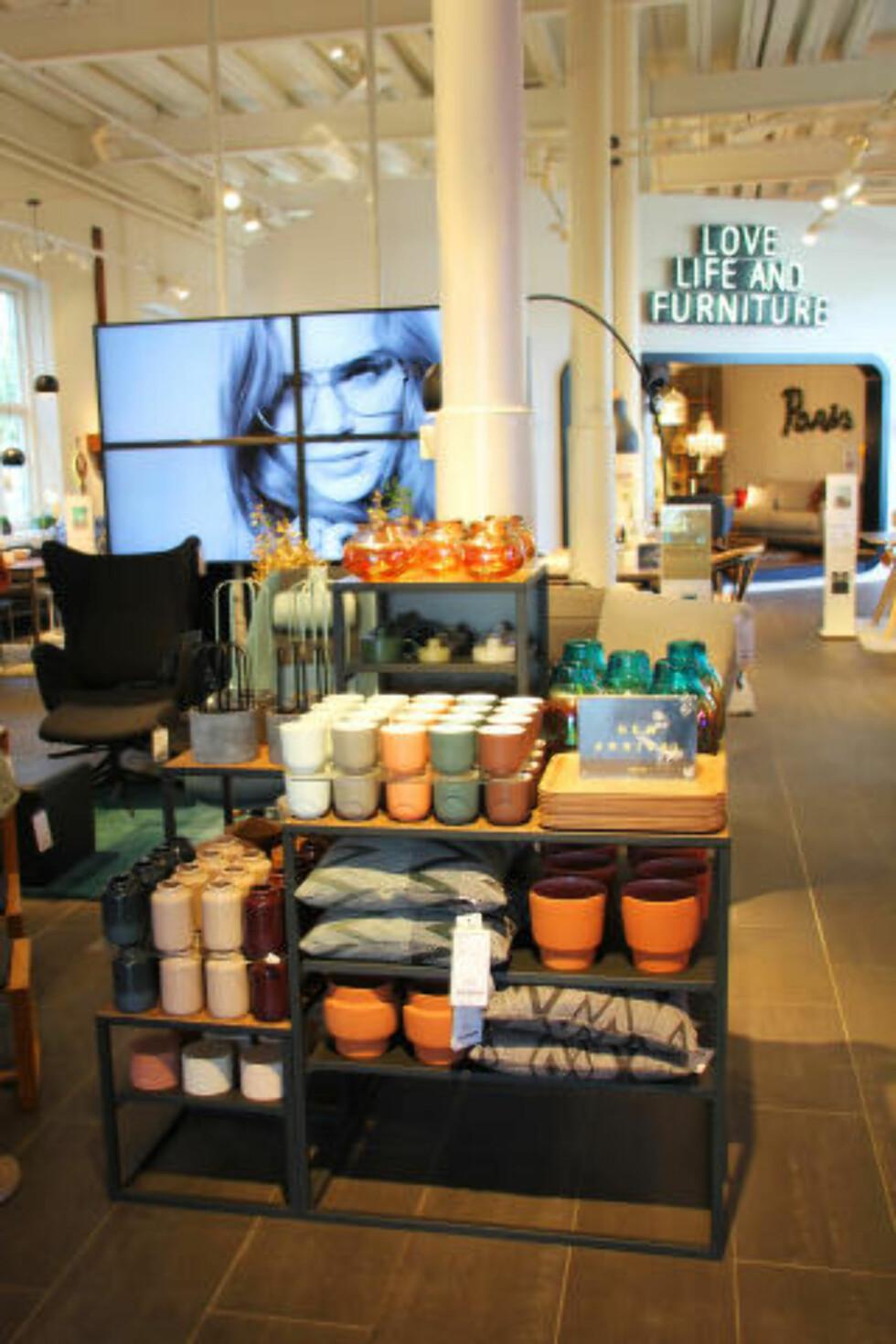 DESIGN: Århus er flere ganger kåret til Skandinavias beste shoppingby, ikke minst finner du mange unike og frittstående designforretninger. Foto: KJERSTI VANGERUD