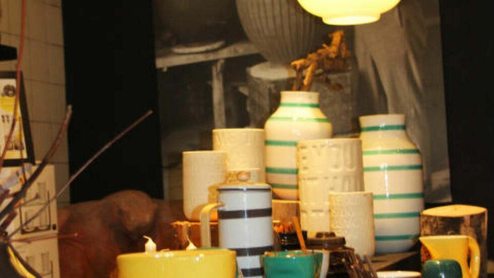 POPULÆRT: Disse vasene finner du i mange skandinaviske hjem om dagen. Flaggskipforretningen ligger i Århus. Foto: KJERSTI VANGERUD