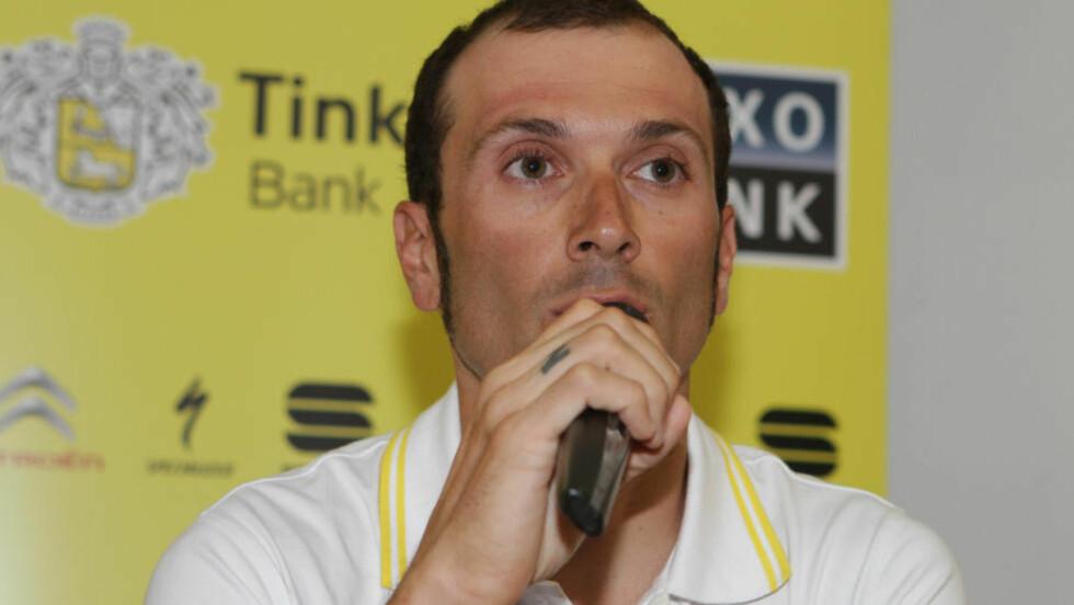 FRISK: Ivan Basso har gjennomført en vellykket operasjon og slipper ytterligere behandling. Foto: Scanpix