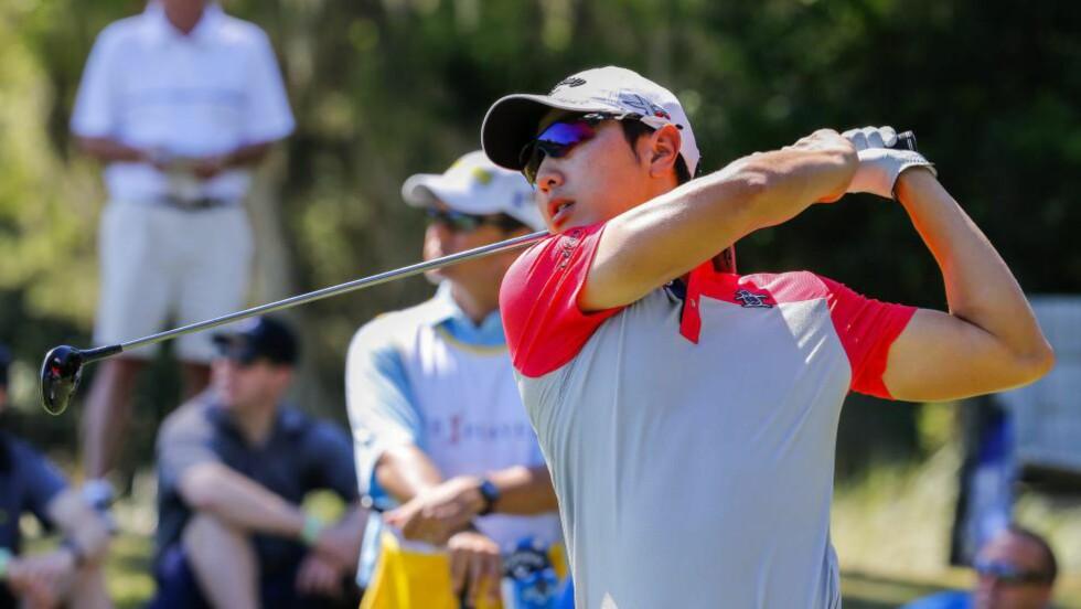 MÅ I MILITÆRET: Den sørkoreanske golfstjernen Bae Sang-Moon må reise hjem for å avtjene verneplikten etter å ha tapt kampen mot landets myndigheter i rettssystemet. Foto: EPA/ERIK S. LESSER