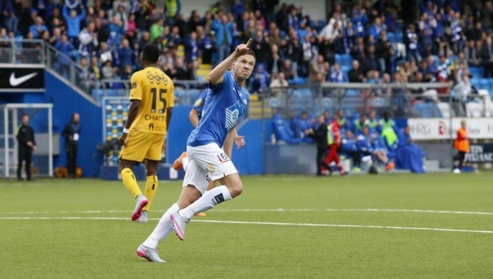 TIL TYSKLAND: Martin Linnes er nær en overgang til FC Nürnberg. Foto: Svein Ove Ekornesvåg / NTB scanpix