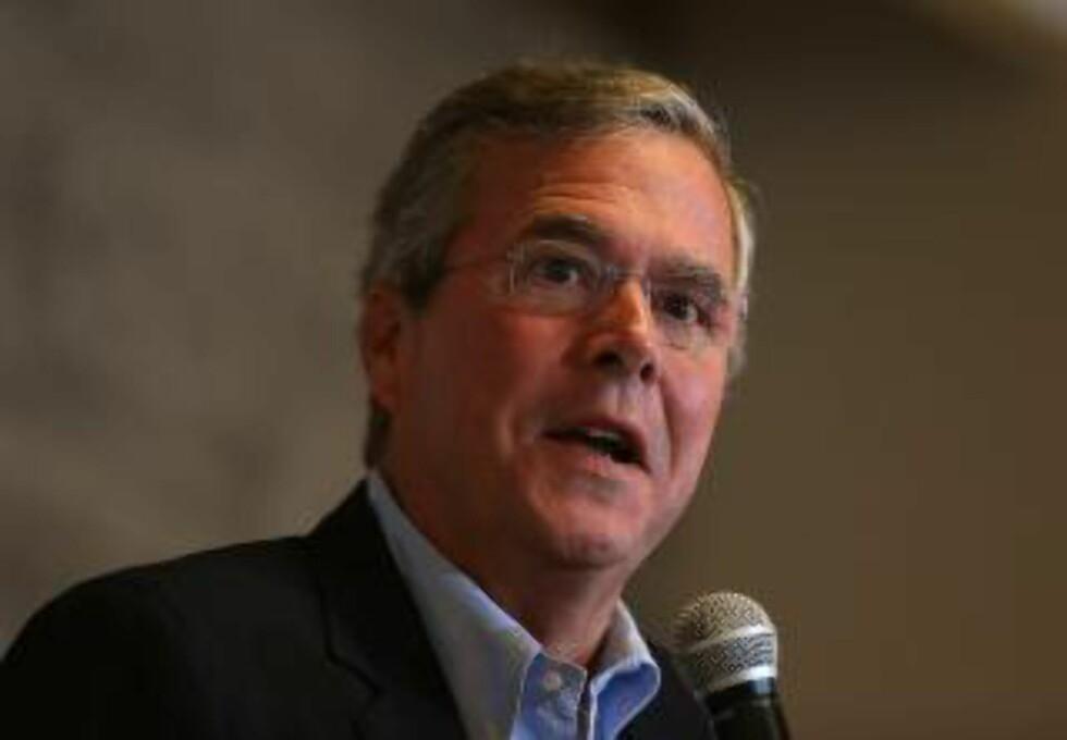Jeb Bush. Foto: Justin Sullivan/Getty Images/AFP