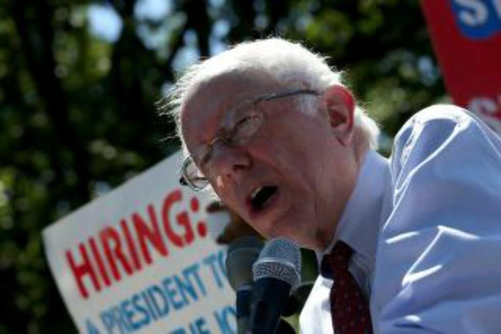 Bernie Sanders. Foto: Win McNamee/Getty Images/AFP