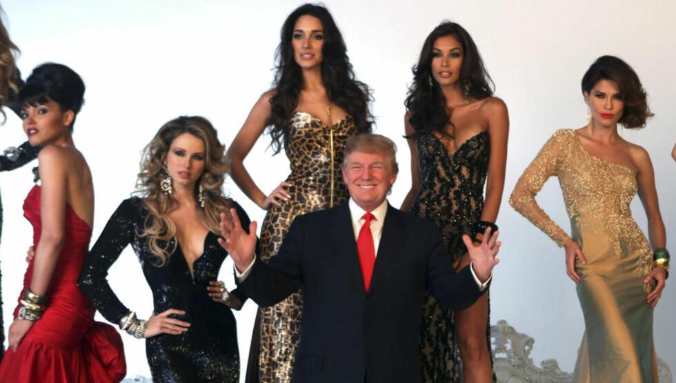 SKAPER OVERSKRIFTER: Eiendomsbaron og missegeneral (blant annet) Donald Trump har kastet seg inn i presidentkampen. Foto: Reuters / NTB Scanpix