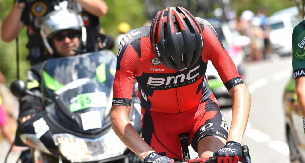 TUNG DAG: Tejay Van Garderen kom seg aldri til mål på den 17. etappen i årets Tour de France. Foto: Tim de Waele (©TDWSport.com)