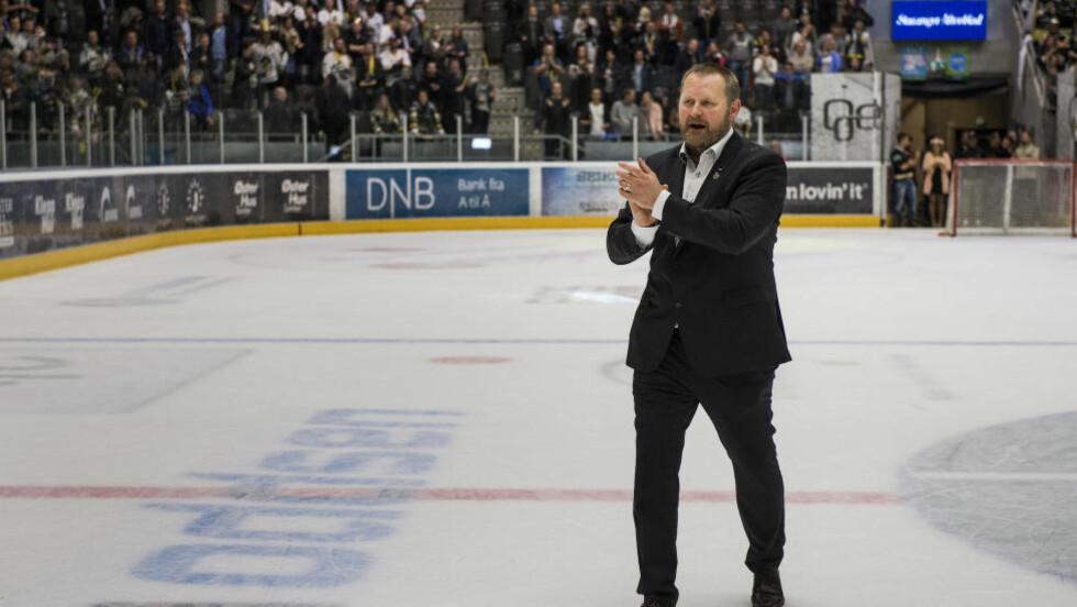 FORSTERKER: Stavanger Oilers og Petter Thoresen har styrket stallen foran kommende hockeysesong. Med Nick Bruneteau og Andy Sertich er troppen fulltallig. Foto: Carina Johansen / NTB Scanpix
