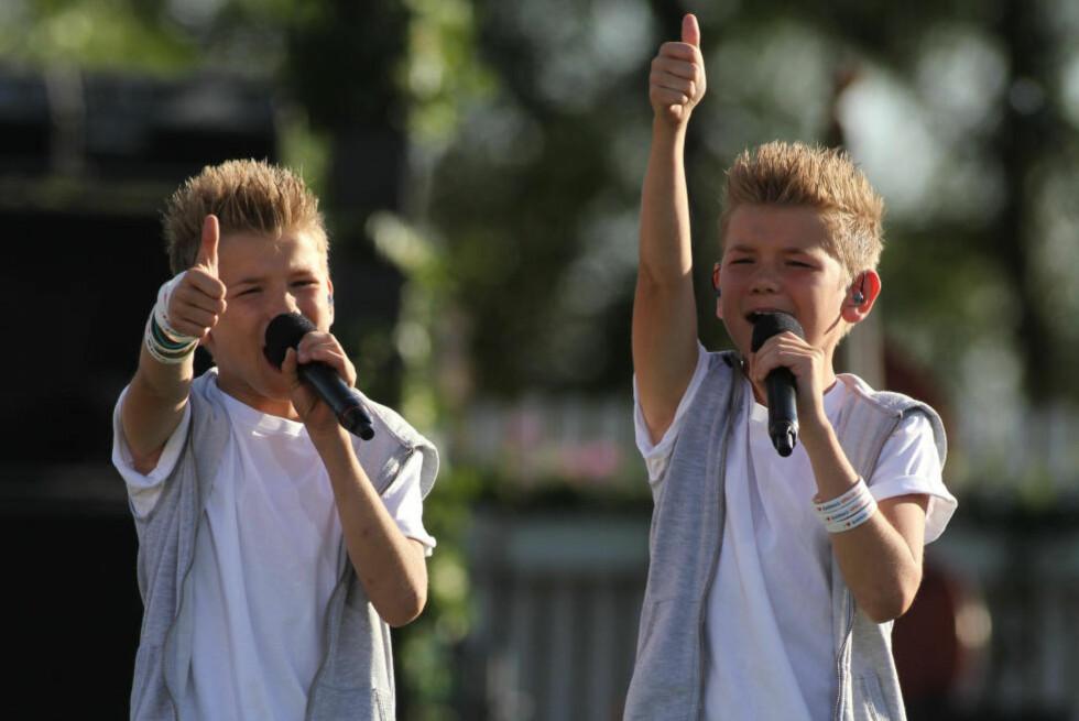 FÅ MED DEG MARCUS & MARTINUS PÅ SØNDAG: Søndag 26. juli kommer tvillingbrødrene Marcus & Martinus på besøk i vår Norway Cup-sending direkte fra Ekebergsletta, fra kl. 11.00. Foto: Stella Pictures