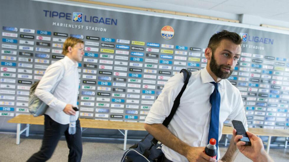 TIL AALESUND?: Sunnmørsposten melder at Magne Hoseth blir Aalesund-spiller innen kort tid. Foto: Vegard Wivestad Grøtt / NTB scanpix