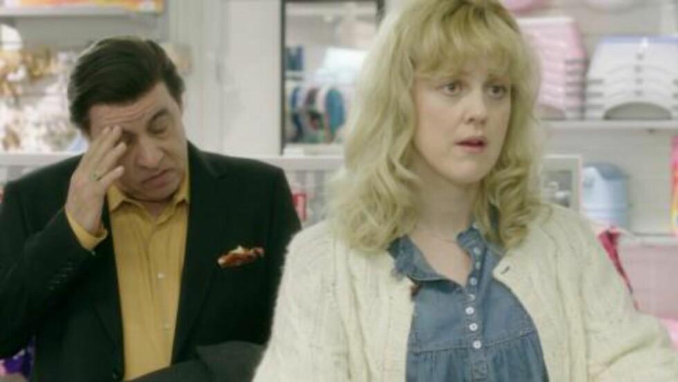 POPULÆRE:  Lilyhammer har vært en stor suksess. Her med to av hovedrolleinnehaverne, Little Steven som Frank og Marianne Ottesen som Sigrid. Foto: Rubicon