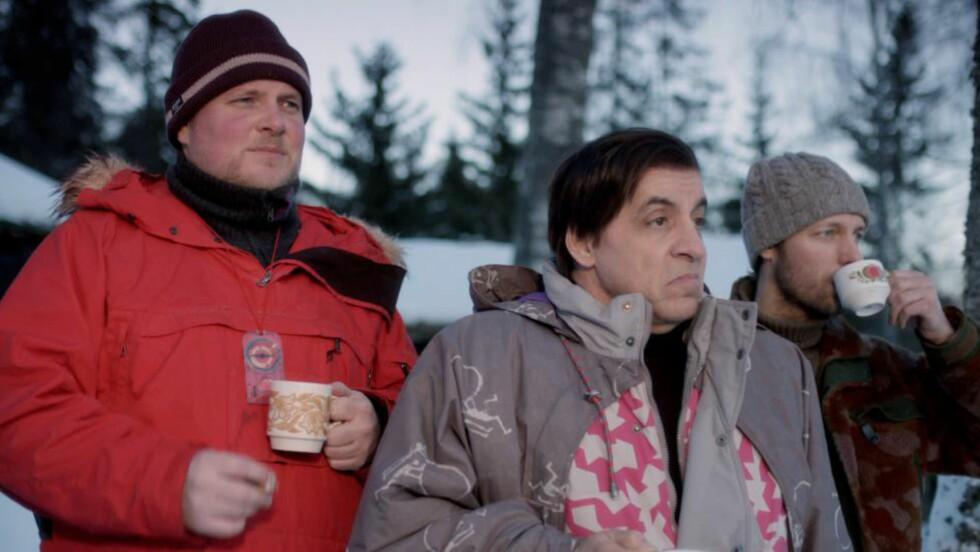 GUTTA PÅ TUR: Steinar Sagen, Steven Van Zandt og Trond Fausa Aurvåg var alle sentrale karakterer i «Lilyhammer». Nå kan det være slutt. Foto: Rubicon