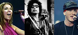 Gjetter du hvem av disse artistene som har best ordforråd?