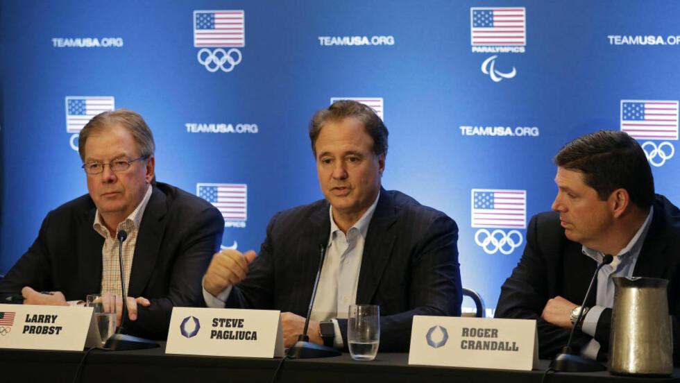 FYLLERØR?: Søkerkomiteen for OL i Boston 2024 sliter ikke bare med å utforme en god søknad. Nå er også komiteen beskyldt for å fare med «fyllerør». Foto. AP Photo/Eric Risberg