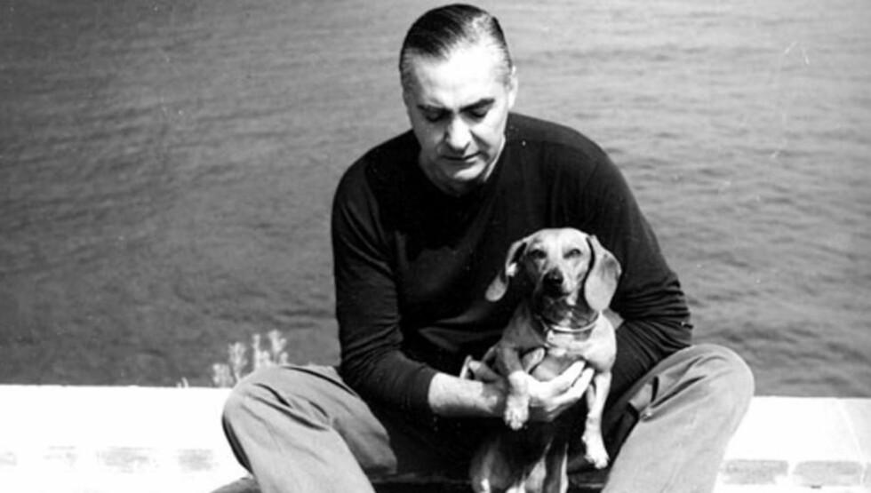KONTROVERSIELL: Curzio Malaparte het egentlig Kurt Erich Suckert. Han var tidligere medlem av fascistpartiet i Italia. Foto: WIKIPEDIA