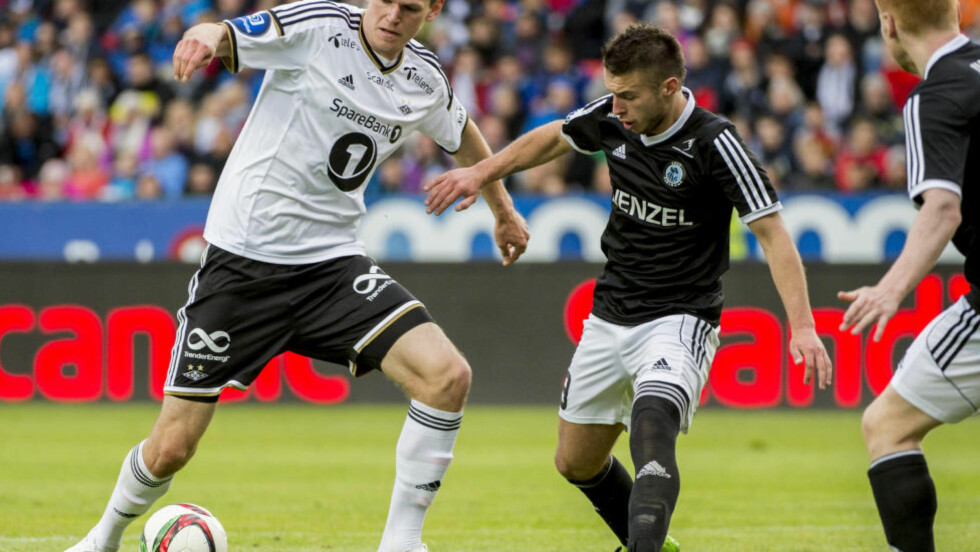 FERDIG:  Rosenborg benytter seg ikke av kjøpsklausulen på den innleide spissen Tomas Malec (22) fra Slovakia. Foto: Ned Alley / NTB scanpix