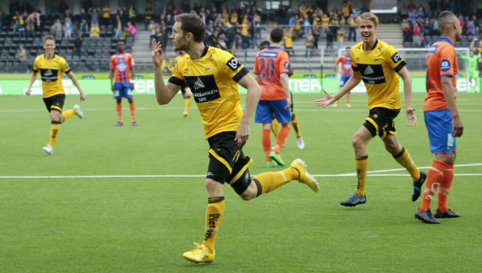 KLAR FOR RBK: Matthias Vilhjalmsson forlater Start. Foto: Tor Erik Schrøder / NTB scanpix