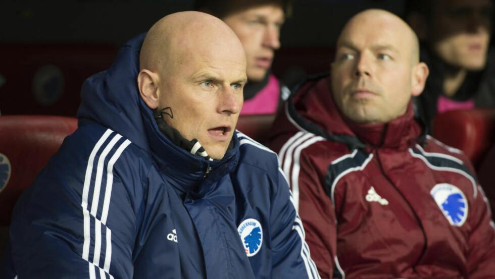 FULL POTT:  F.C København og Ståle Solbakken åpnet den danske serien med å slå Esbjerg borte. Foto: Jens Nørgaard Larsen / NTB scanpix