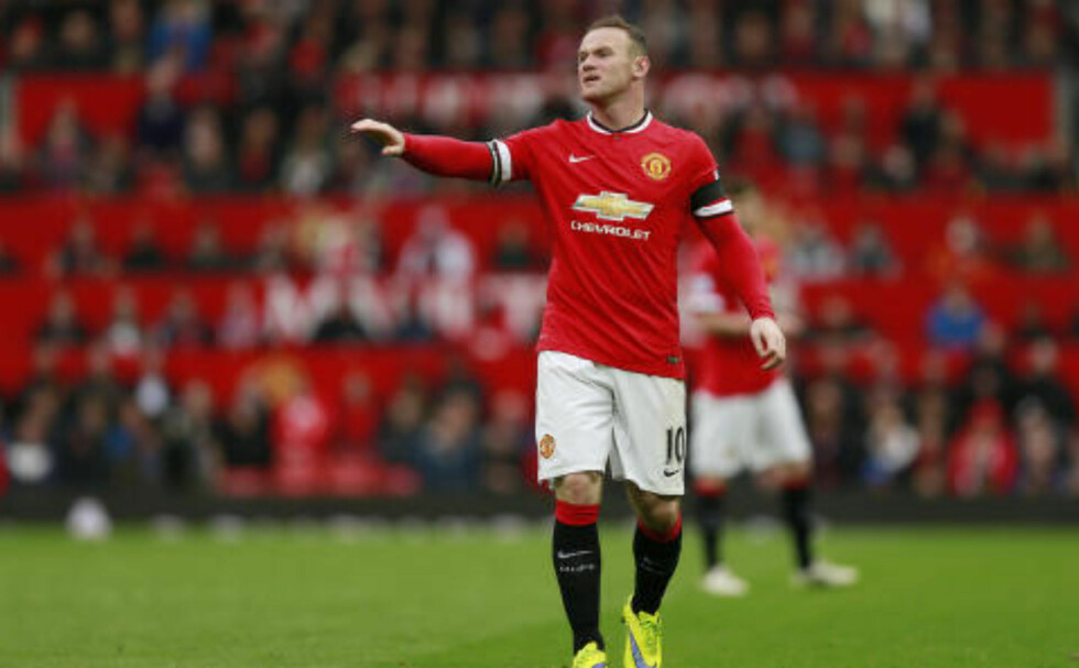 KJENT: Wayne Rooney. Foto: Jason Cairnduff / Reuters Livepic