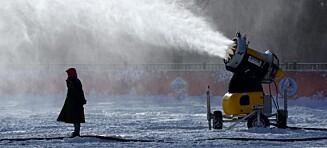 Beijing avviser snøproblem: - Har kapasitet til å takle alle værforhold