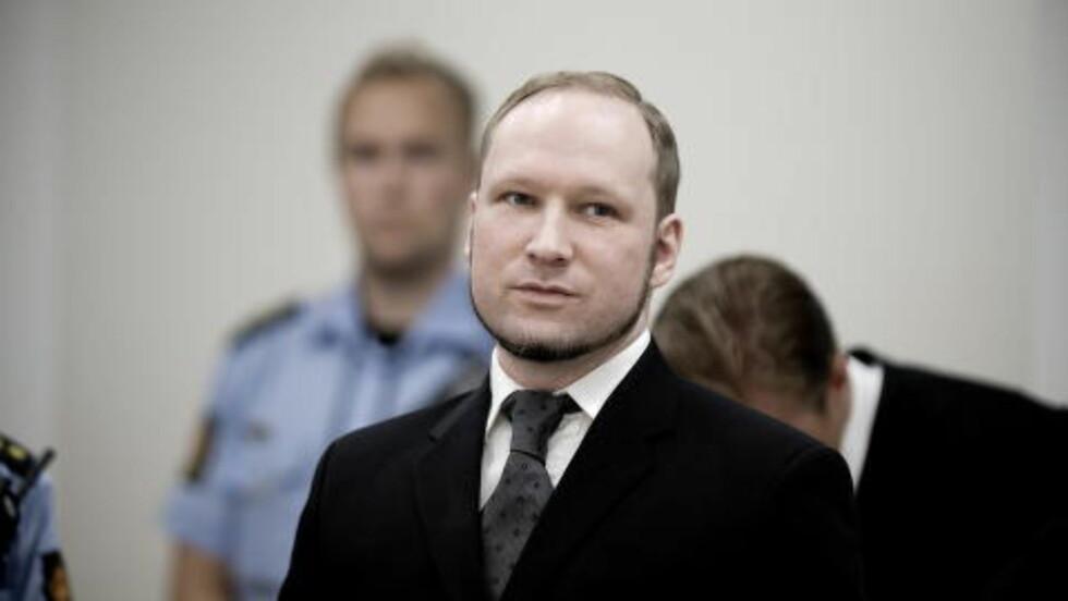 TERRORDØMT: Anders Behring Breivik. Foto: Bjørn Langsem
