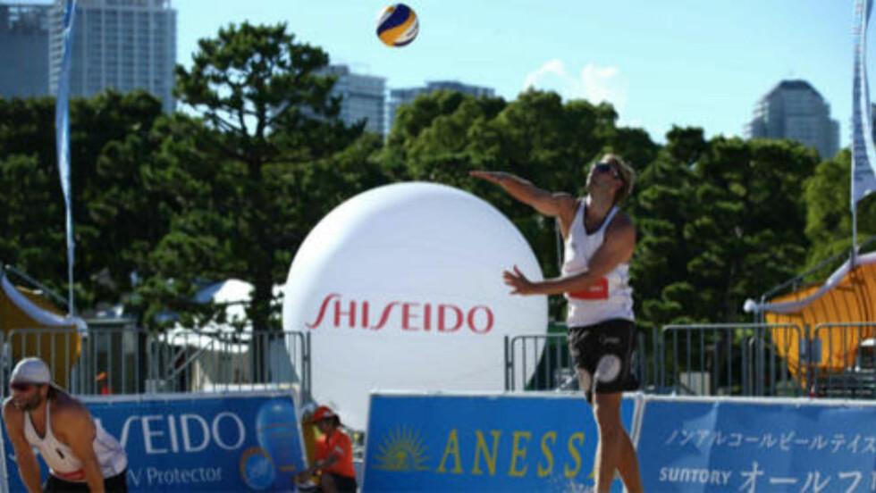 I JAPAN: Turneringen i Japan ble en liten nedtur for de norske, men i Østerrike kan det bli EM-jubel. Foto: Privat