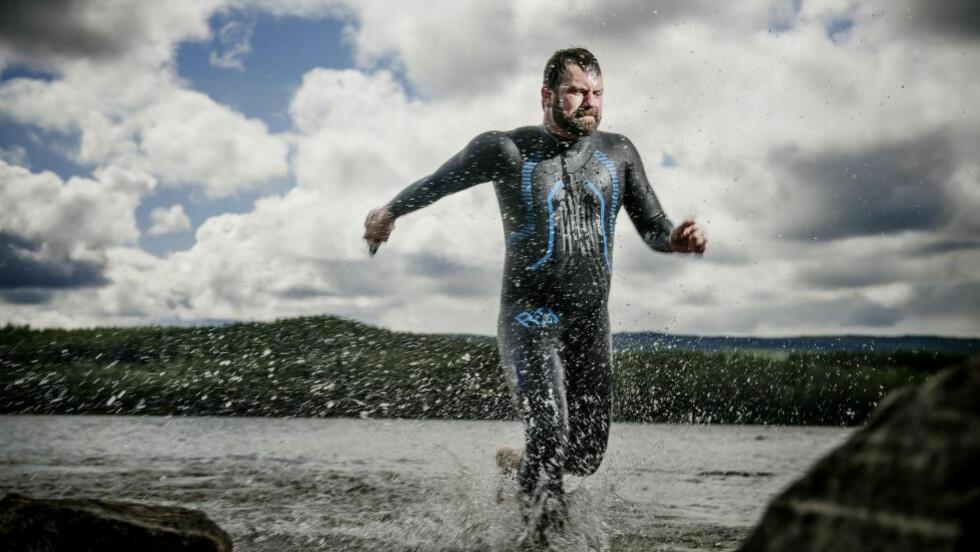 TRIATLON: Pål Fasseland gikk fra null treningstimer i uka til ti-elleve timer i uka. Foto: Benjamin A. Ward