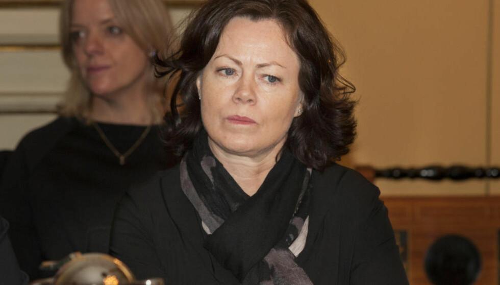 IKKE FORNØYD: Barne-, likestillings- og inkluderingsminister Solveig Horne er lite tilfreds med at to av tre kvinnelige flyktninger ikke arbeider. Foto: Torstein Bøe / NTB scanpix