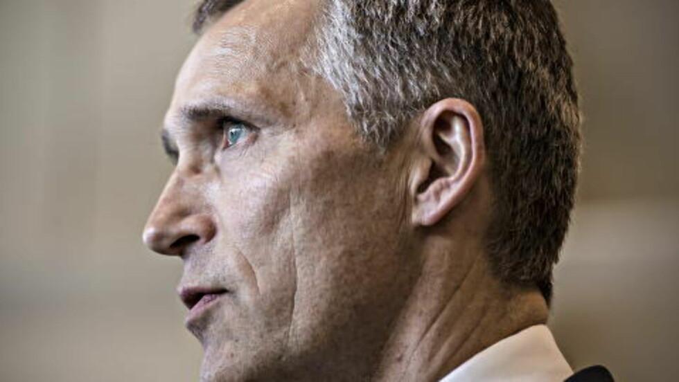 I KRISEMØTE: Jens Stoltenberg sier NATO står sterkt i kampen mot terror sammen med Tyrkia. Foto Hans  Arne Vedlog / Dagbladet