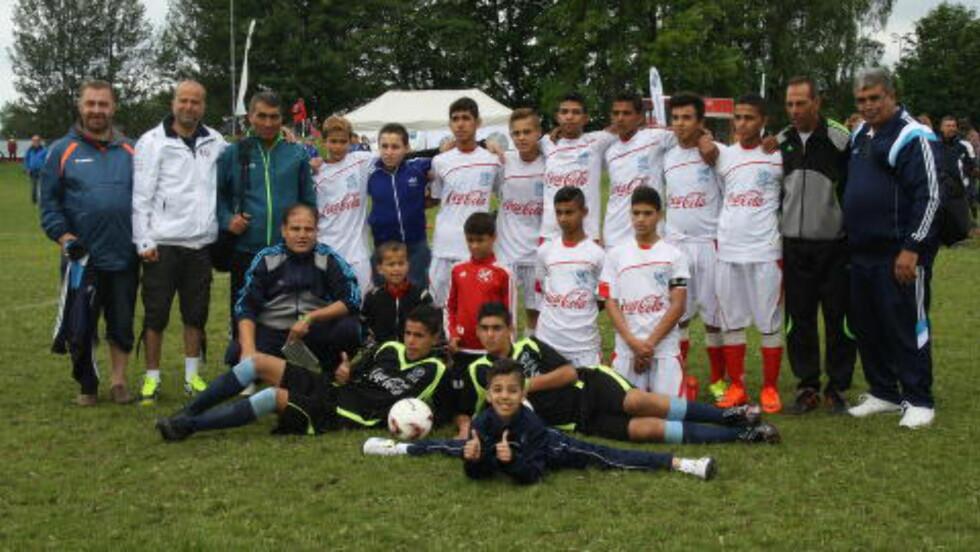 LAGET: UNWRAs lag under Norway Cup. Foto: Ine-Elise Høiby