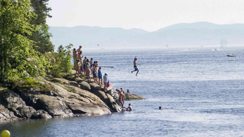 SOMMER:  Sommeren er ikke dårlig. Bare helt som vi bør forvente. Foto: Thomas Rasmus Skaug / Dagbladet