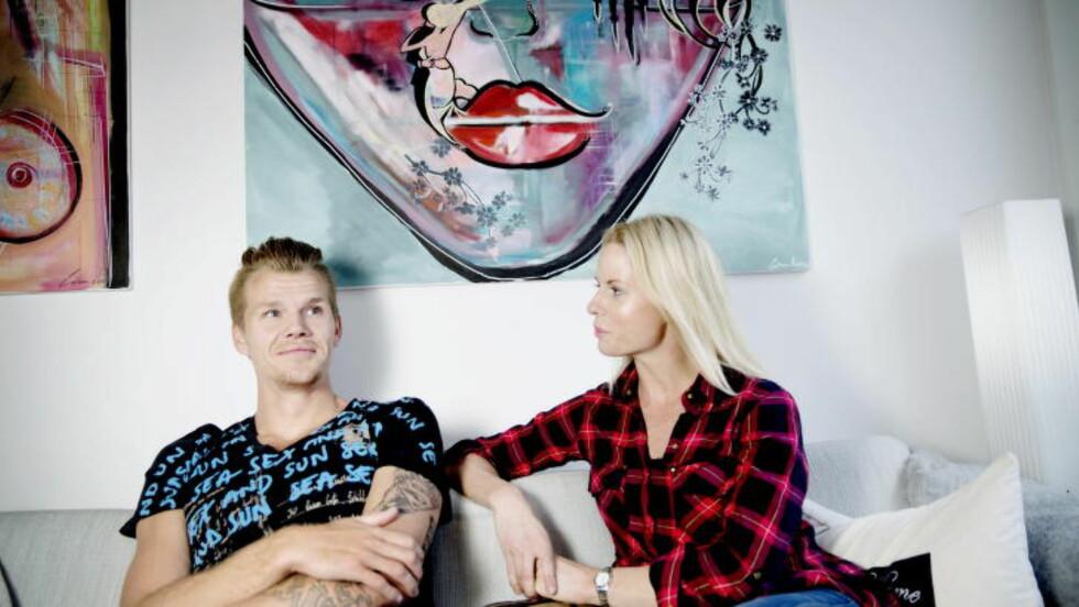 FORELDRE: Cathrine Larsåsen og samboer Morten Jensen. Foto: Kristian Ridder-Nielsen / Dagbladet.