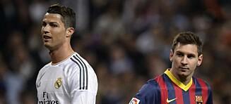 Håner Messi og Ronaldo: - Kvaliteten var mye bedre før