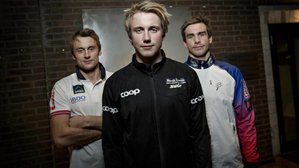 STILLER: Alle Northug-brødrene stiller opp under Norway Cup sin kjendiskamp i dag. Foto: Anita Arntzen / Dagbladet