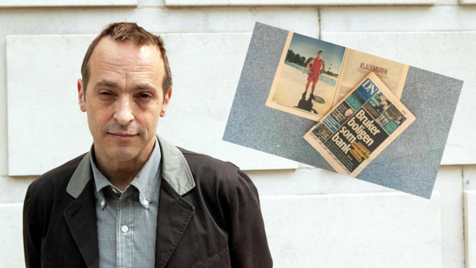 - UHELDIG: Det er David Sedaris som i teksten «Standing By» som har lagt grunnlaget for en håndfull sitater, poenger og situasjoner i DNs reportasje. Foto: NTB Scanpix / Merete Skogrand / Dagbladet