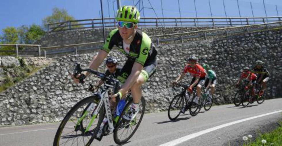 FJELLRITT: Giro del Trentino er ett av etapperittene Skjerping har syklet denne sesongen. Foto: Slipstream Sports