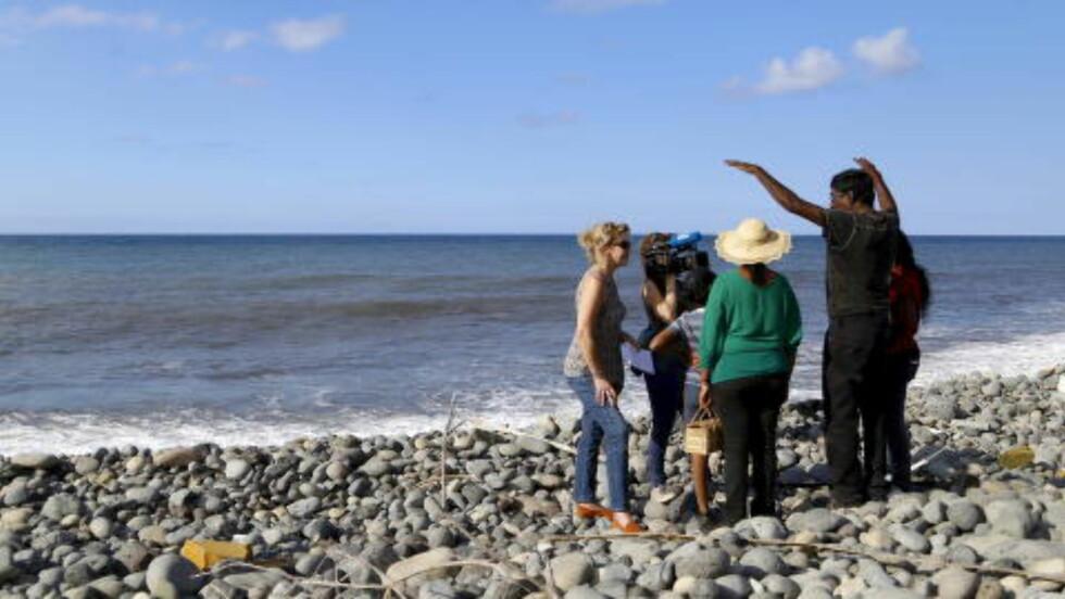 LA REUNION: Det er ved denne øya, Reunion utenfor Madagaskar, at en flydør skal være funnet. Foto: REUTERS/Jacky Naegelen/NTB Scanpix
