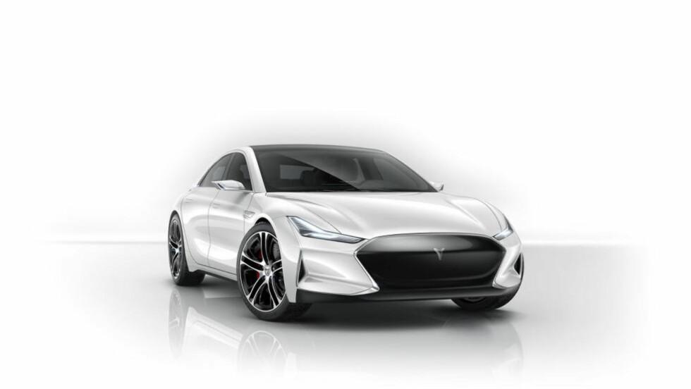 JUKS, JA!  Det er liten tvil om hvor inspirasjonen til denne bilens design er kommet fra ... Foto: YOUXIA